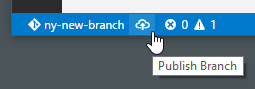 branch publish