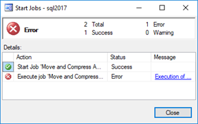 scheduling powershell tasks with sql agent – dbatools