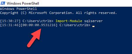 decreasing module import times – dbatools