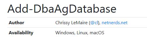 dbatools & sql on linux – dbatools